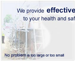 We provide effective Solutions to your health and safety problems